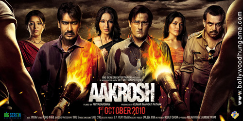 Aakrosh, Ajay Devgn,Akshaye Khanna,Bipasha Basu,Paresh Rawal,Urvashi Sharma,Raima Sen,Amita Pathak