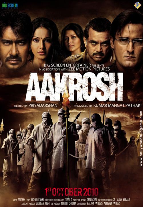 Aakrosh, Ajay Devgn,Akshaye Khanna,Bipasha Basu,Paresh Rawal,Urvashi Sharma,Reema Sen,Amita Pathak,Vineet Sharma,Sameera Reddy
