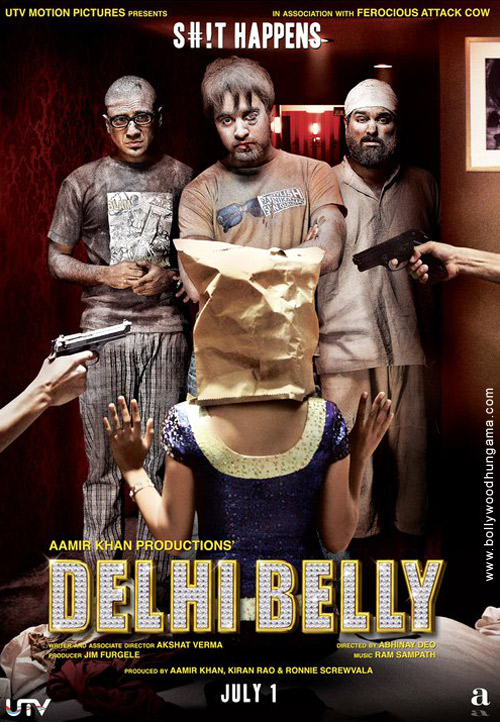 Delhi Belly, Imran Khan,Poorna Jagannathan,Shenaz Treasuryvala,Vir Das,Kunal Roy Kapoor,Vijay Raaz,Paresh Ganatra,Raju Kher,Rahul Singh,Rahul Pendkalkar