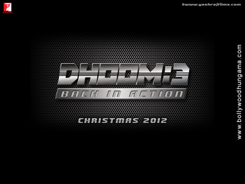 POSTER FILM DHOOM 3