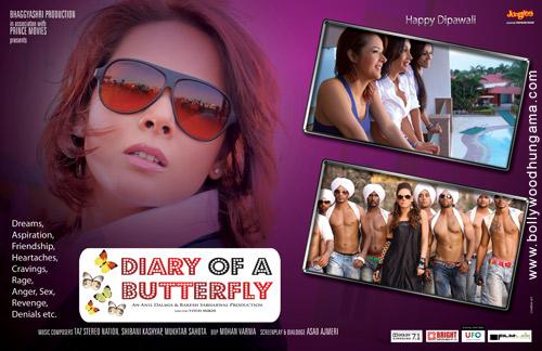 Diary of a Butterfly, Rajiv Singh,Udita Goswami,Sofia Hayat,Aryan Vaid,Rajesh Khattar