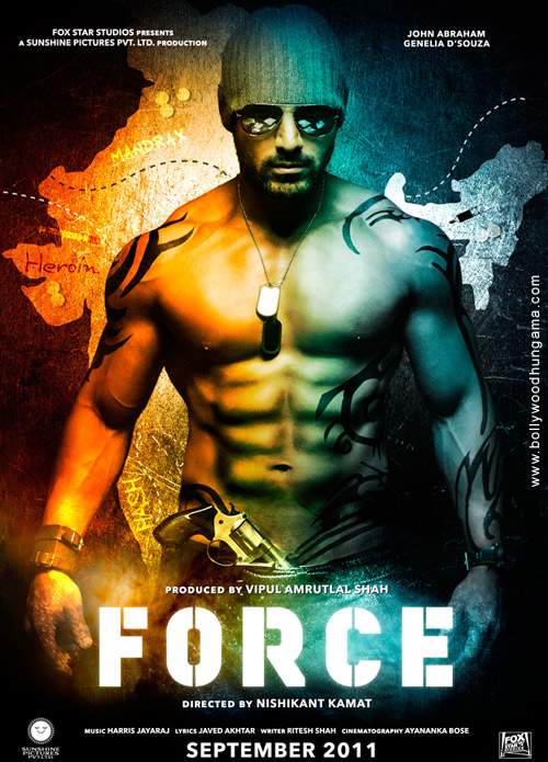Force, John Abraham,Genelia Dsouza,Raj Babbar,Mohnish Bahl