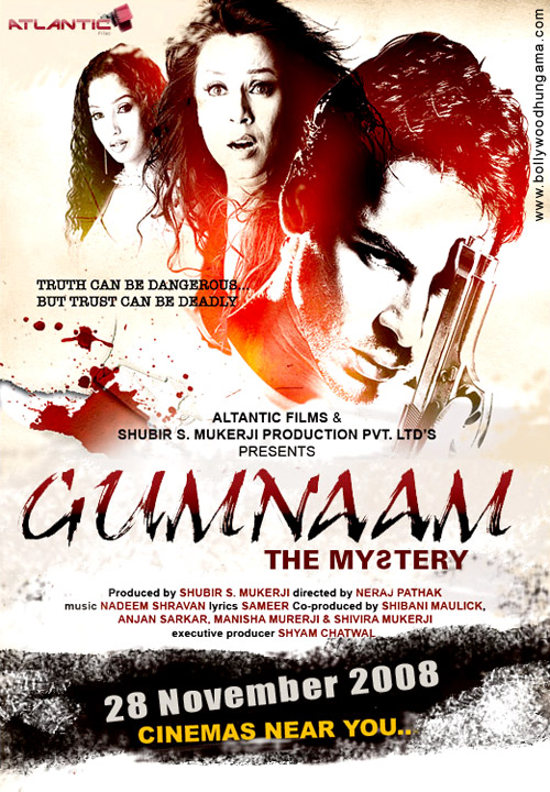 Gumnaam The Mystery 2008 1CD Subs Team IcTv Hindi preview 0