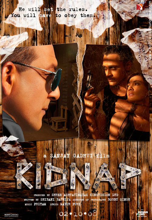 Kidnap, Sanjay Dutt,Minissha Lamba,Imran Khan,Vidya Malvade,Malaika Arora,Amrita Arora,Rahul Dev,Reema Lagoo