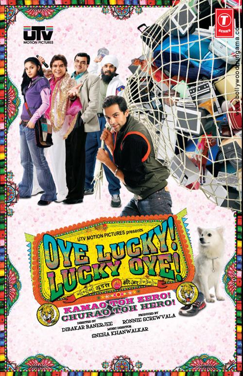 Oye Lucky! Lucky Oye!, Abhay Deol,Paresh Rawal,Neetu Chandra,Archana Puran Singh,Manu Rishi,Richa Chadda,Anurag Arora,Manjot Singh,Rajinder Sethi,Amandeep Singh Bakshi,Chandan Anand