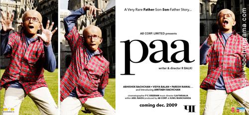 Paa, Amitabh Bachchan,Abhishek Bachchan,Vidya Balan,Paresh Rawal