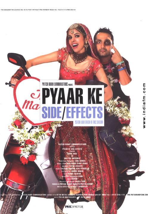 Pyaar Ke Side Effects, Rahul Bose, Mallika Sherawat, Suchitra Pillai, Sophie Chaudhary, Ranvir Shorey, Sapna Bhavnani, Taraana Raja, Aamir Bashir, Jas Arora, Sharat Saxena