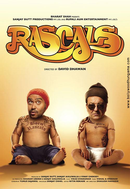 Rascals, Sanjay Dutt,Ajay Devgn,Arjun Rampal,Kangna Ranaut,Chunky Pandey,Satish Kaushik,Lisa Haydon,Hiten Paintal,Mushtaq Khan