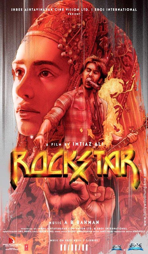 Rockstar, Ranbir Kapoor,Nargis Fakhri