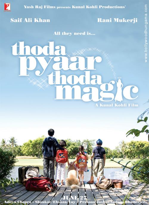 Thoda Pyaar Thoda Magic, Saif Ali Khan,Rani Mukherjee,Rishi Kapoor,Baby Shriya Sharma,Sharat Saxena,Razzak Khan,Mahesh Thakur,Amisha Patel,Ayushi Burman,Rachit Sidana,Akshat Chopra