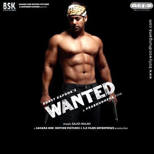 Wanted  2009  avec Salman Khan et Ayesha TakiaWanted 2009