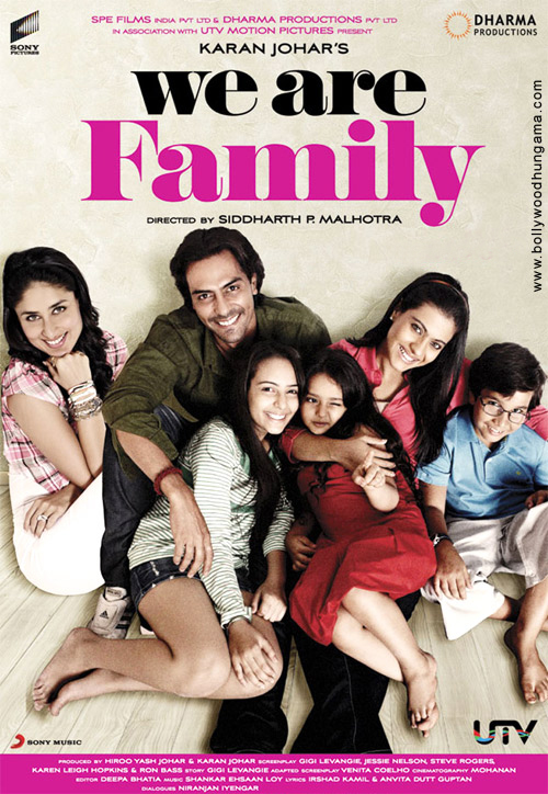 We Are Family, Kareena Kapoor,Kajol,Arjun Rampal