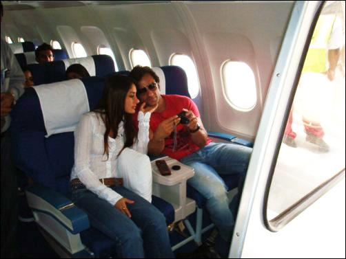 Kareena & Seif Maldives2