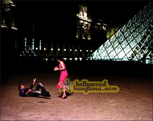 Exclusive look at Salman and Asin shooting in Paris for London Dreams