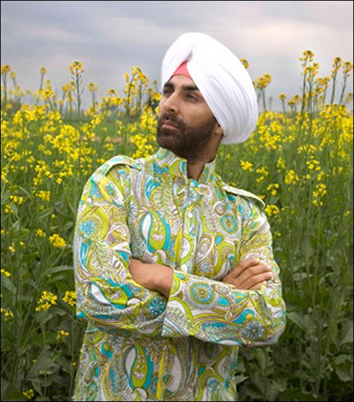 Akshay Kumar's 'Sardar' look in Singh Is Kinng