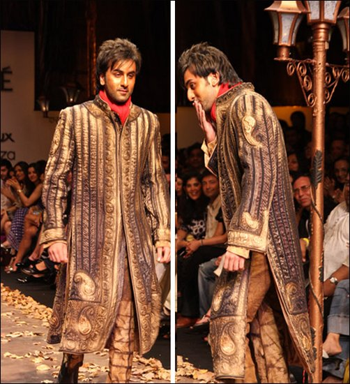 ranbir1 - *Polling 4 sherwani competition Oct 09*