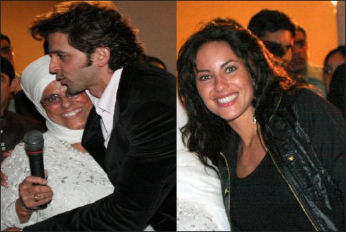 Exclusive images of Hrithik & Barbara during Kites shoot in Mexico & Vegas