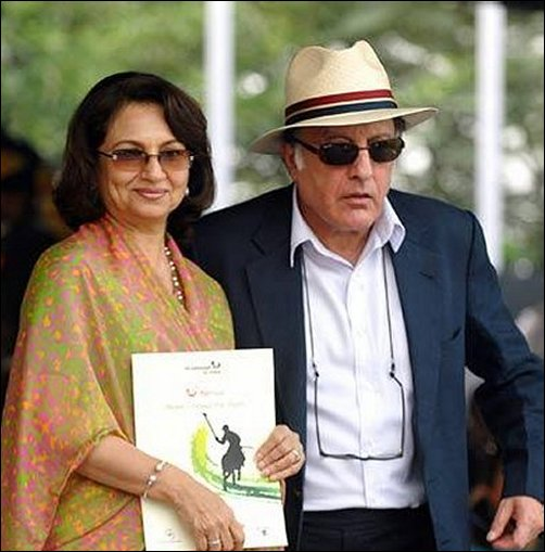 Nawab Pataudi and Sharmila Tagore
