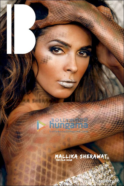 Check Out: Mallika's sexy photo-shoot for Bunker Hill Magazine
