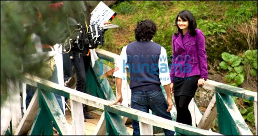 Check  Out: Rajeev Khandelwal and Prachi Desai on the sets of Joker