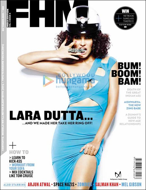 FHM captures Lara Dutta