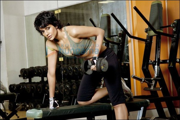 Check out: Mandira Bedi gets sporty with The Man