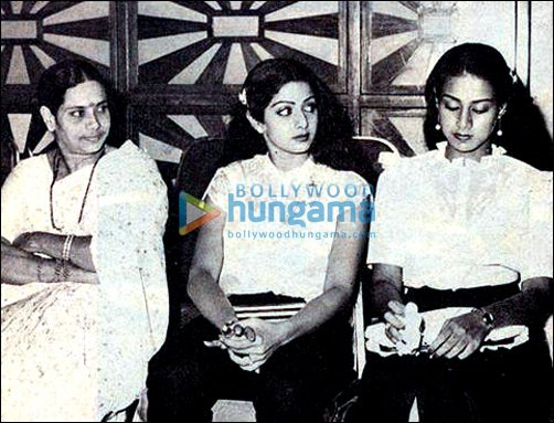 Check Out: Sridevi during her younger days with mother and sister