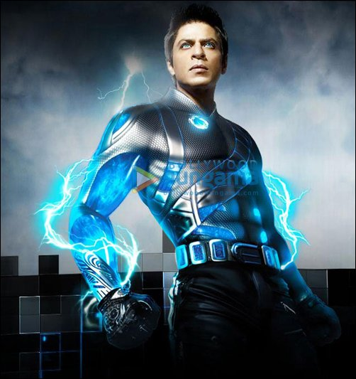 Meet the characters in SRK's Ra.One