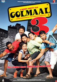 Watch Golmaal 3 DVD Online Movie