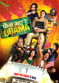 Phas Gaye Re Obama (2010 - movie_langauge) - Rajat Kapoor, Neha Dhupia, Amol Gupte, Amit Sial, Sanjay Mishra, Manu Rishi, Brijendra Kala, Sumeet Nijhawan, Surendra Rajan, Pragati Pandey, Devender Chaudhary. Vivake, Avantica