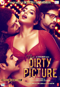 The Dirty Picture Hindi Movie Poster