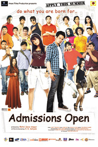Adminssions Open (2010) Hindi movie Watch online