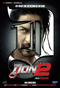Don 2 Hindi Movie Poster