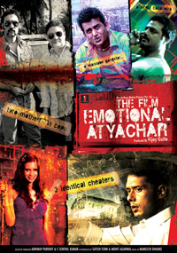 Emotional Atyachar: The Film (2010 - movie_langauge) - Vinay Pathak, Ranvir Shorey, Kalki Koechlin, Abhimanyu Singh, Ravi Kissen