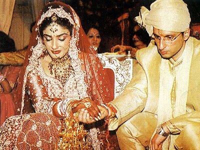 Stills from Raveenas Wedding, Raveena Tandon , Anil Thadani