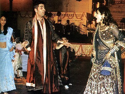 Stills from Raveenas Wedding, Karan Johar , Raveena