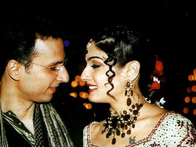 Stills from Raveenas Wedding, Anil Thadani , Raveena Tandon