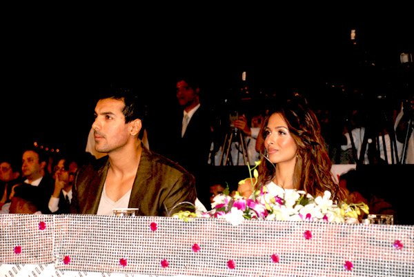 John Abraham and Malaika Arora at Gladrags Mrs India ...
