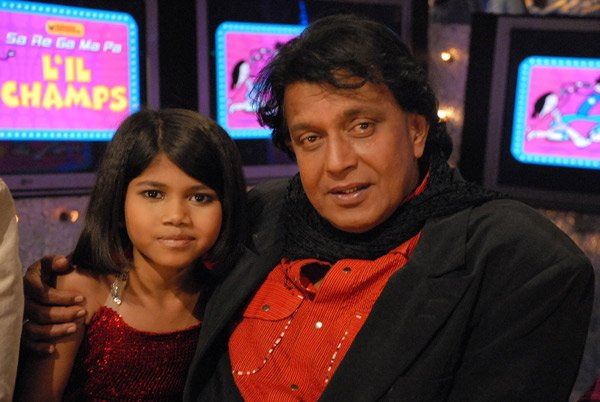 Mithun Chakraborty on Zee L'll Champs , Vaishali, Mithun Chakraborty
