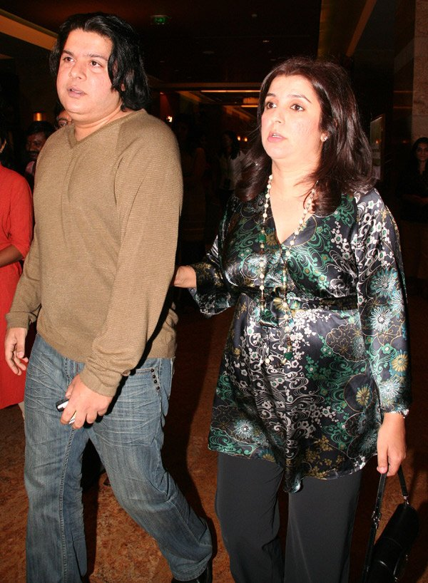 Om Shanti Om fashion show at Grand Hyatt, Sajid Khan, Farah Khan