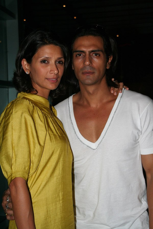 Om Shanti Om fashion show at Grand Hyatt, Mehr Jessia Rampal, Arjun Rampal