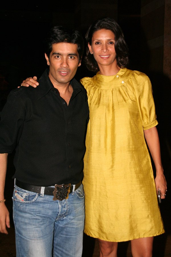 Om Shanti Om fashion show at Grand Hyatt, Manish Malhotra, Mehr Jessia Rampal