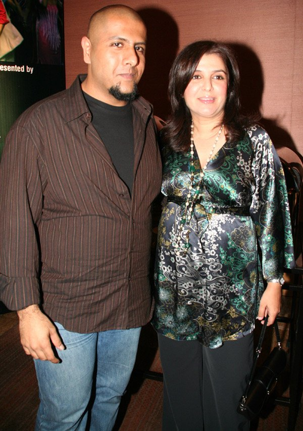 Om Shanti Om fashion show at Grand Hyatt, Vishal Dadlani, Farah Khan