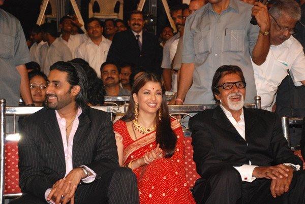 Mumbai Police Diwali Mela Annual Function 2007, Abhishek Bachchan, Aishwarya Rai, Amitabh Bachchan