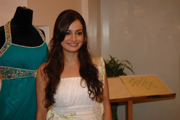 Rocky S collections launch at AZA, Dia Mirza