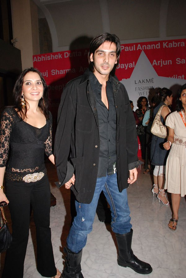 Vikram Phadnis and Anita Dongres collection at LIFW, Malaika, Zayed Khan