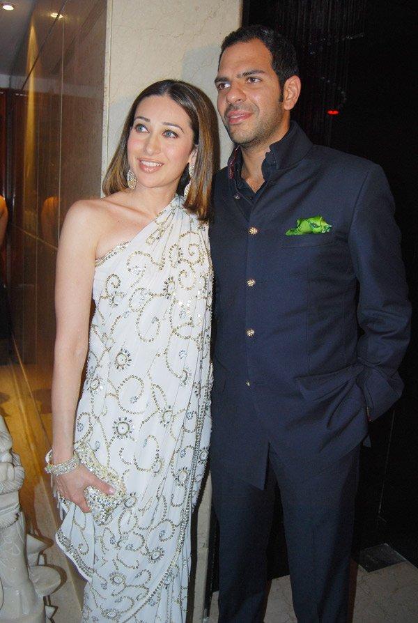 dj aqeel and farah khan�s wedding anniversary party