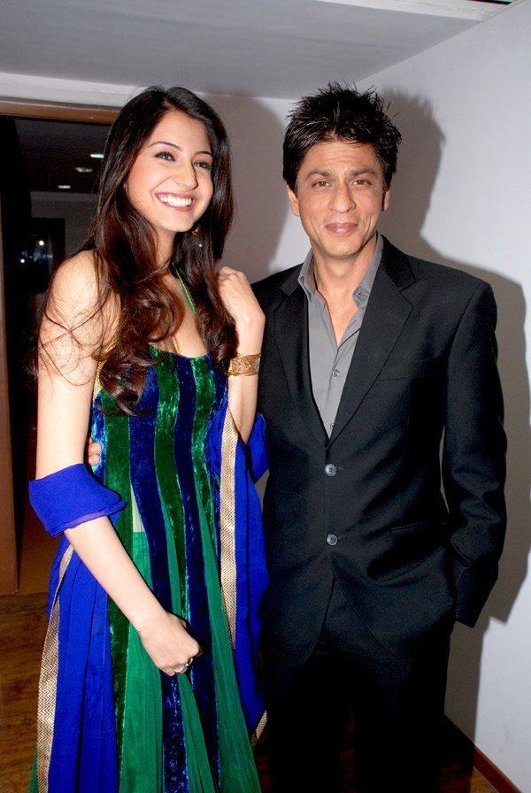 Shahrukh Khan & Anushka Sharma