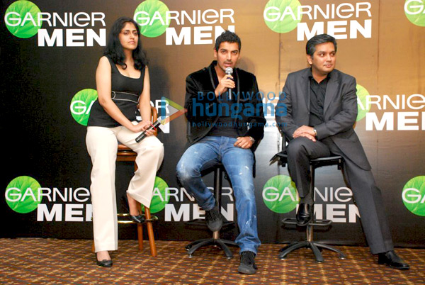 still11 - John Abraham endorses Garnier Men