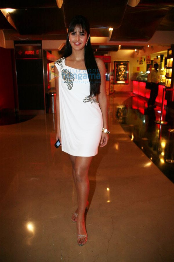Gorgeous Katrina Kaif at the Screening of Movie Blue